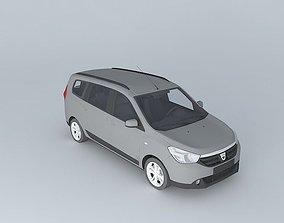 2013 Dacia Lodgy 3D