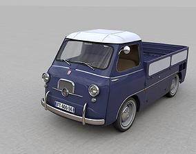 FIAT 600 MULTIPLA CORIASCO PICKUP 1956 3D
