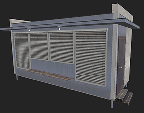 Street Stand 3D model game-ready