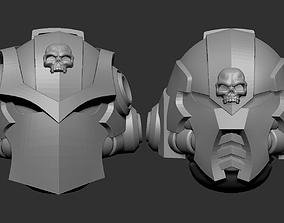 Adeptus astartes alternative heads set 3D printable model