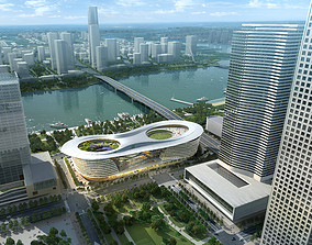 3d building 377