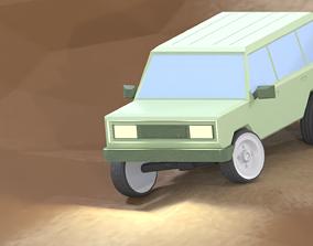 3D model Offroad 4x4 jeep truck SUV