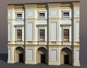 Apartment House 3D model city