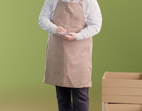 3D model Yalgin 10151 - Standing Waiter
