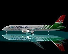 Air Seychelles 787 - 8 Dreamliner 3D model