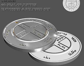 6th Seal of Jupiter 3D print model
