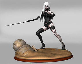 3D printable model yorha a2