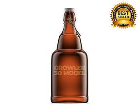 Beer growler 3D model
