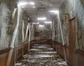 Abandoned Corridor 3D model