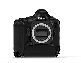 ii Canon EOS-1D X Mark II - Element 3D