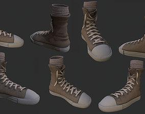 sneakers apparel 3D asset VR / AR ready