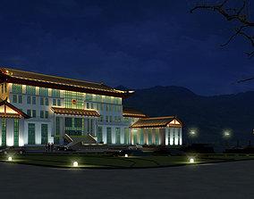 tibet architecture 10 3D