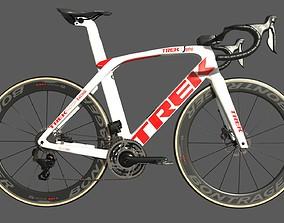 Roadbike TREK Madone SLR 9 Disc eTap white 3D model