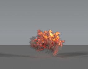 Fire Explosion 04 - VDB 3D