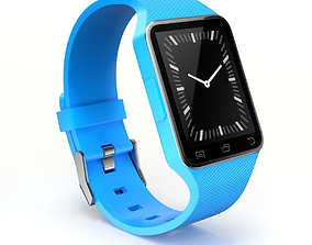 touchscreen Smart Watch 3D