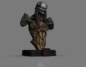 3D printable model Predator Bust