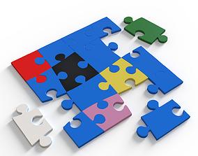 Puzzle various 3D