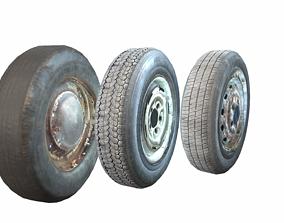 3D model Wheels pack