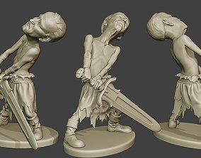 Joe Biden Warrior Meme 3D print model