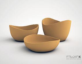 3D print model ELEMENTs RUSTIC BOWLs SET