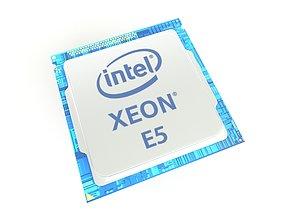 Intel CPU XEON E5 v2 001 3D asset