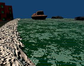 Game Ready Scene Design 3D model