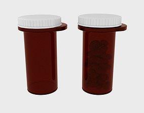 Poison Pill Tube 3D model