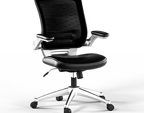 Modway Edge Leather Chair 3D model
