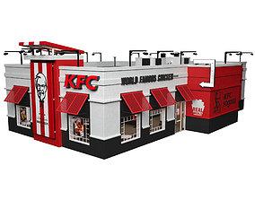 KFC Restaurant 3D