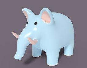 3D model Cartoon Elephant 2