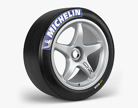 3D model Michelin OZ Racing Combo