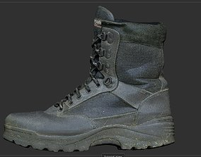 3D model Military Boot