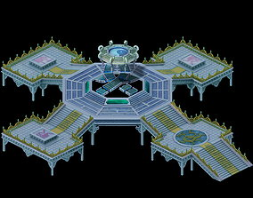 3D Game Model - Summon Magic Array Call Demon Circle