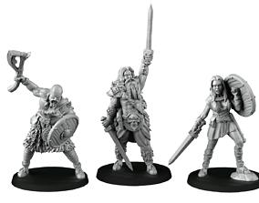 band of barbarians 3D printable model