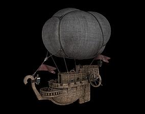 Airship 3D model VR / AR ready