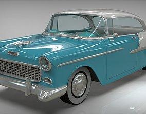 3D model Chevy Belair Coupe 1955 Blender