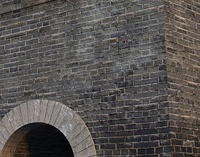 3D model The entrance of ancient city gate in China 06
