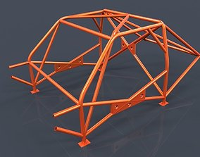Roll cage-race car frame 3D