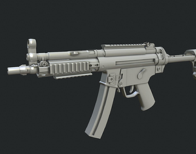 3D Heckler and Koch MP5