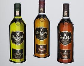 Glenfiddich Whisky 3D model