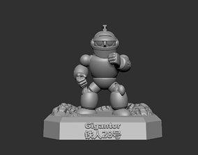 Gigantor SD series 3D printable model