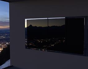 LCD TV 3D model