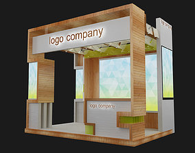 3D model Booth Exhibition Stand decoration exhibitions