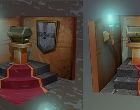 The Treasure Room 3D asset