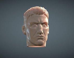 3D printable model Punisher inspirited Figure Head