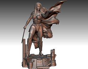 3D printable model Lady Vader