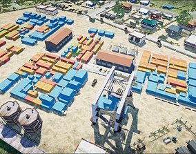 3D asset realtime Erangle Novorepnoy Map