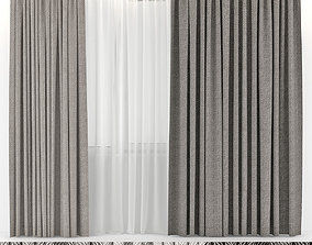 CURTAINS WOOL 3D