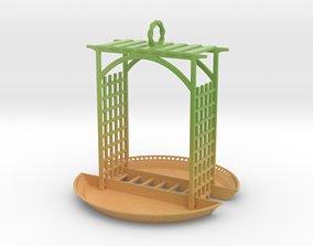 Birdfeeder 3D print model