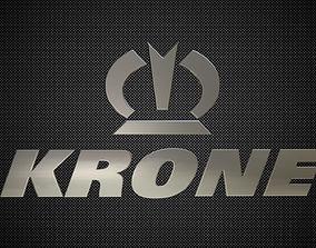 3D model krone logo